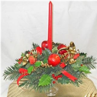 Candlestick Bouquet with Horns