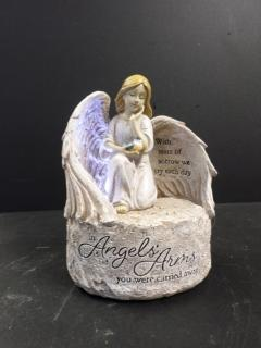 AF Lighted Angel Statue, In Angel\'s Arms