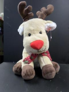 Stuffed reindeer, Tan