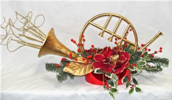 French Horn Centerpiece