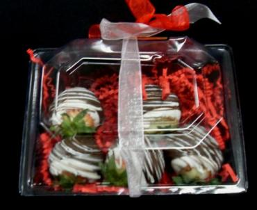 "Arnold Florist ""Chocolate Dipped Strawberries\""  (Half Pound)"