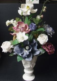 Cherub Vase Arrangement