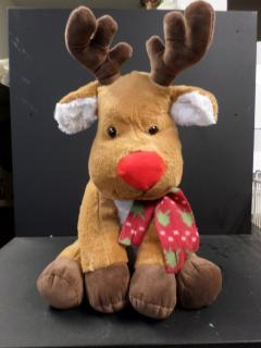 Stuffed Reindeer, Brown