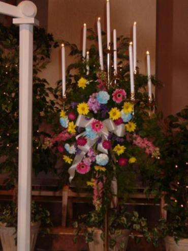 Candelabra Decorated