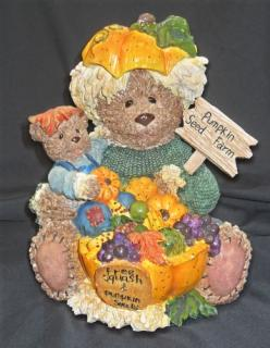 Beary Pumpkin Decoration